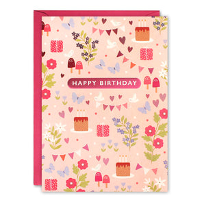 HC3260 - Woodland Kids Birthday Card
