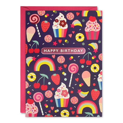 HC3261 - Sweets Kids Birthday Card