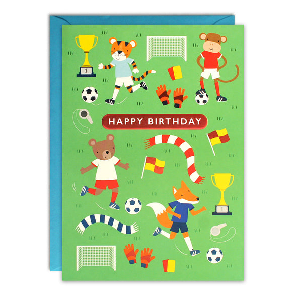 HC3262 - Football Kids Birthday Card