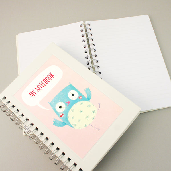 Owl Notebook (Factory Seconds)