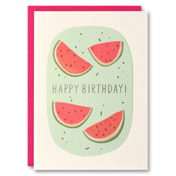 L2679 - Watermelon Peachy Birthday Card