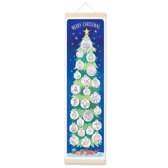 MBAD3174 - Tree Colouring Advent Calendar