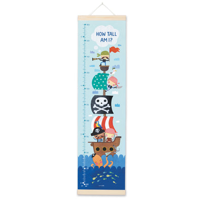 MBHC3072 - Pirate Height Chart