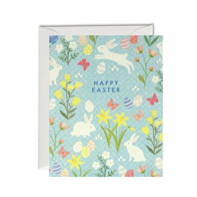 MC3049 - Easter Bunny Pattern pk of 5 cards