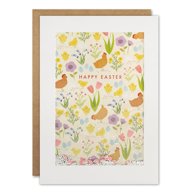 PH3030 - Easter Chicken Pattern Rectangular Shakies Card