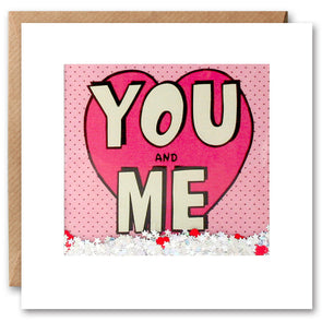 PK2622 - You and Me Kapow Shakies Card