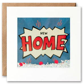 PK2667 - New Home Kapow Shakies Card
