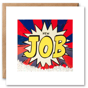 PK2689 - New Job Kapow Shakies Card