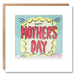 PK2830 - Happy Mother's Day Kapow Shakies Card