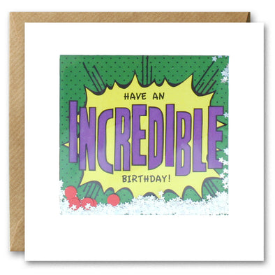 PK2845 - Incredible Birthday Kapow Shakies Card
