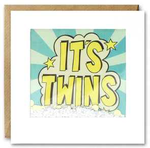 PK2859 - It's Twins Kapow Shakies Card