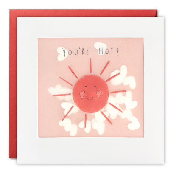 PP3308 - You're Hot Paper Shakies Card