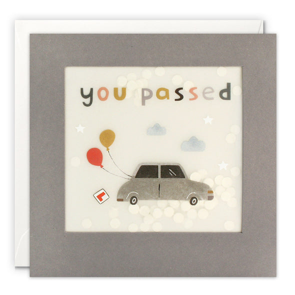 PP3315 - You've Passed Car Paper Shakies Card