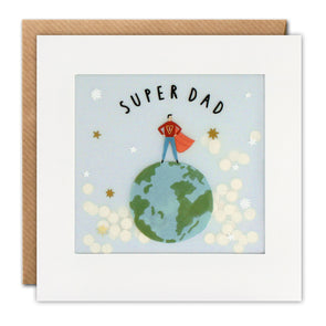 PP3362 - Super Dad Paper Shakies Card