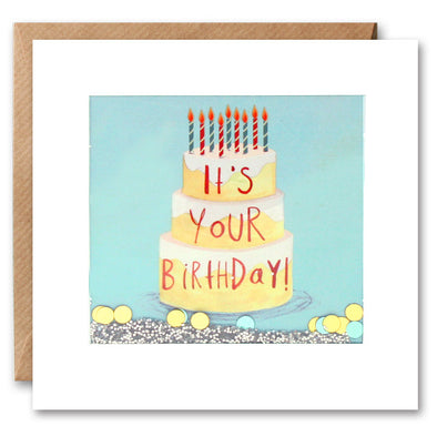 PS2275 - Your Birthday Cake Shakies Card