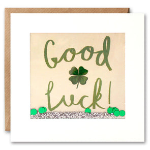 PS2277 - Good Luck Clover Shakies Card
