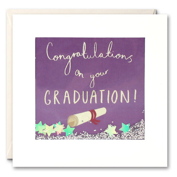 PS2283 - Graduation Scroll Shakies Card