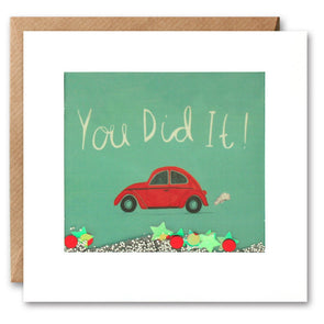 PS2284 - You Did It Car Shakies Card