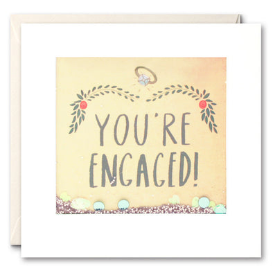 PS2287 - You're Engaged Shakies Card