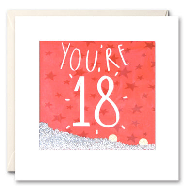 PS2367 - You're 18 Shakies Card