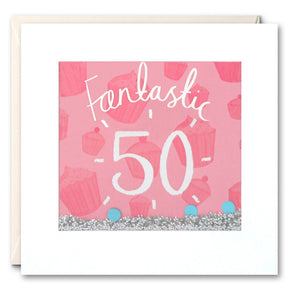 PS2371 - Fantastic 50 Shakies Card