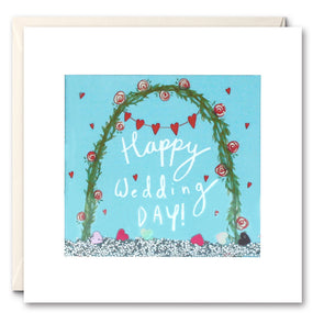 PS2478 - Wedding Arch Shakies Card