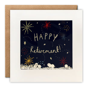 PS2524 - Retirement Fireworks Shakies Card