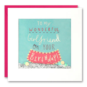 PS2579 - Wonderful Girlfriend Shakies Card