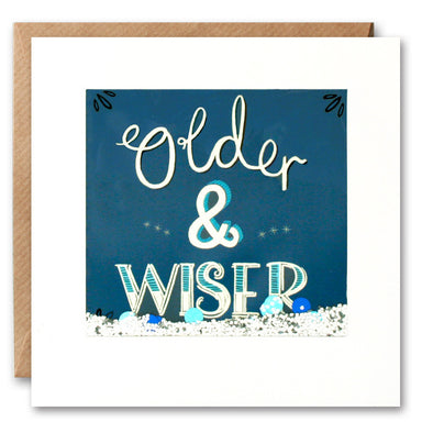 PS2625 - Older and Wiser Shakies Card