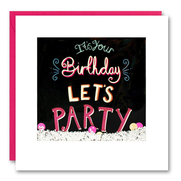 PS2626 - Let's Party Shakies Card