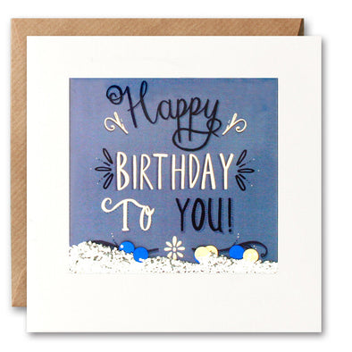 PS2629 - Happy Birthday to You Shakies Card