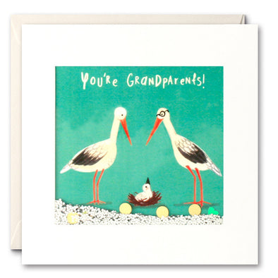 PS2693 - You're Grandparents Shakies Card