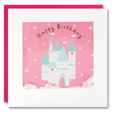 PT2832 - Fairy Castle Shakies Card