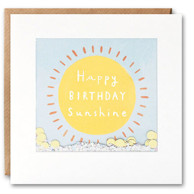 PT2841 - Happy Birthday Sunshine Shakies Card
