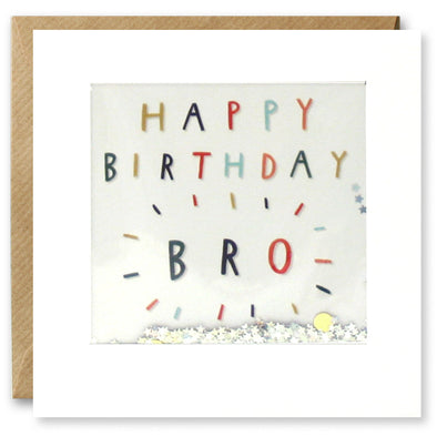 PT2870 - Bro Colourful Birthday Shakies Card
