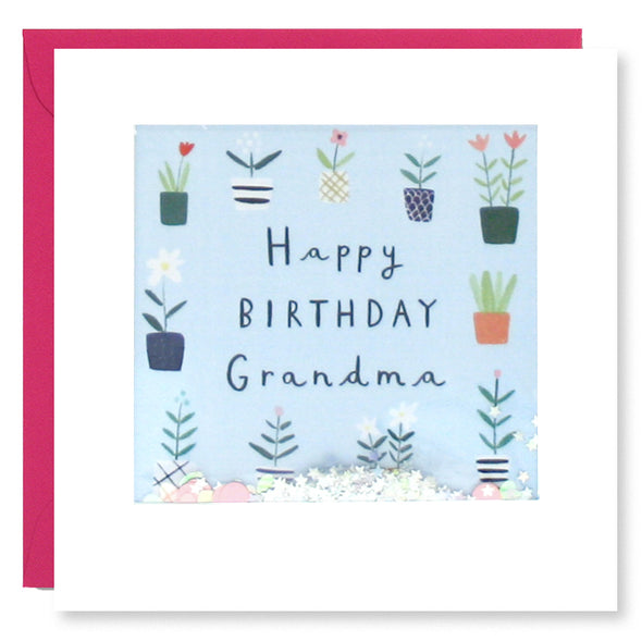 PT2876 - Grandma Plants Birthday Shakies Card