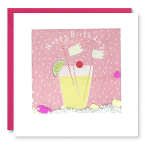 PT2883 - Birthday Cocktail Shakies Card