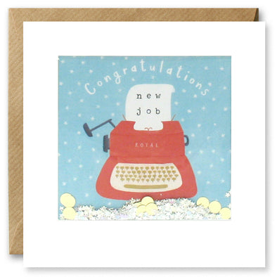 PT2888 - New Job Typewriter Shakies Card