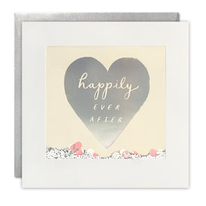 PT2893 - Happily Ever After Foiled Shakies Card