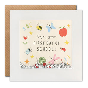 PT2988 - First Day of School Shakies Card