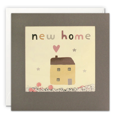 PT3230 - New Home House Grey Shakies Card