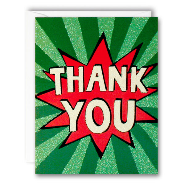R2771 - Thank You Burst Mini pk of 5 Cards