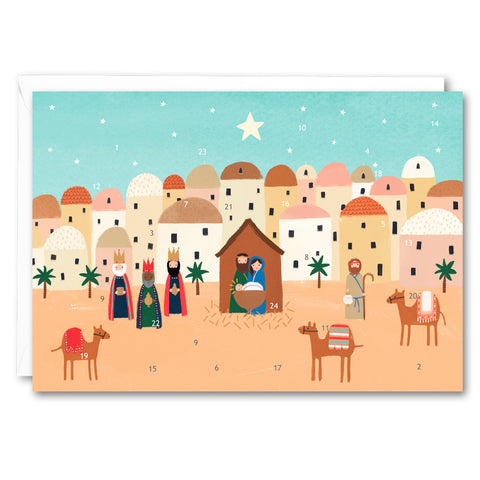 RA2556 - Bethlehem Advent Calendar