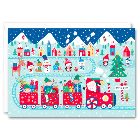 RA2722 - Santa Train Advent Calendar