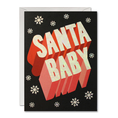 RGP2924 - Santa Baby Yay pk of 5 Cards