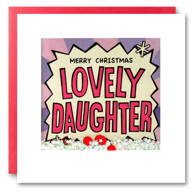 RPK2759 - Daughter Kapow Christmas Shakies Card