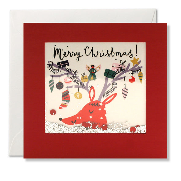 RPS3189 - Decorated Reindeer Shakies Card