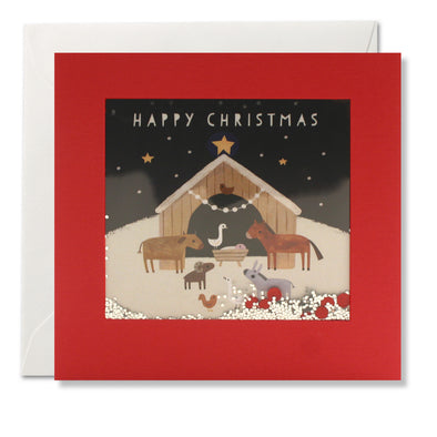 RPS3194 - Christmas Nativity Shakies Card