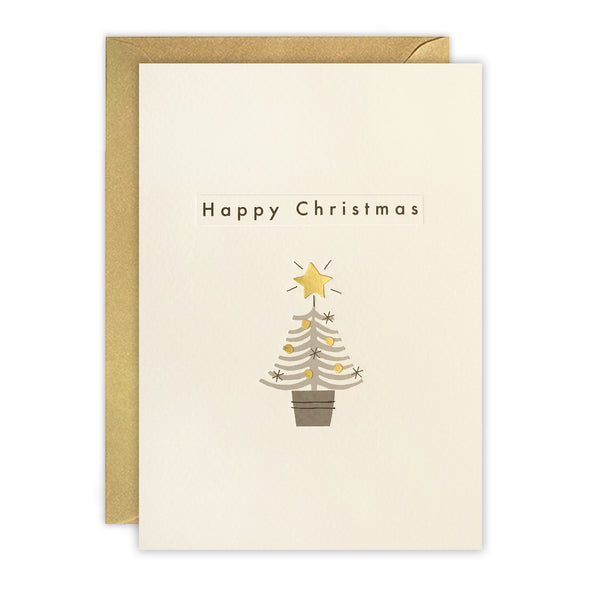 RTN3478 - Christmas Tree Ingot Card