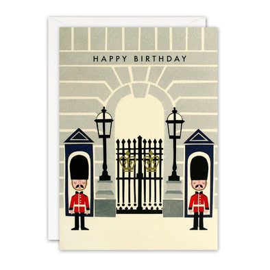 T3236 - Buckingham Palace London Retro Press Card
